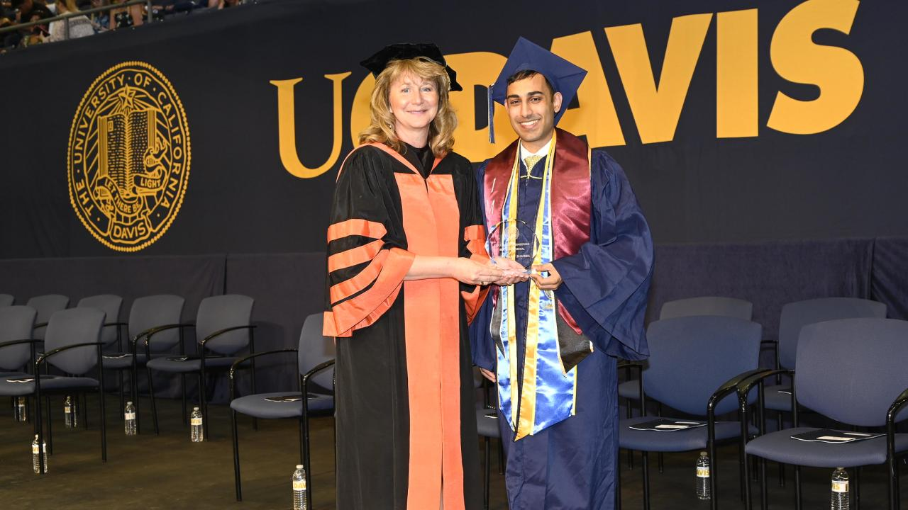 Dean Jennifer Curtis and Shonit Sharma